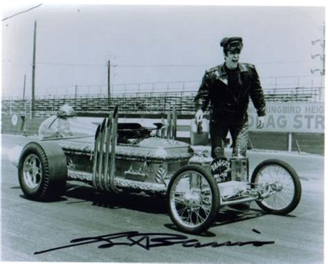 Muster Mobile Drew Totten Autographs Item 0000114382 George Barris Munster Mobile Creator Signed Photo 3