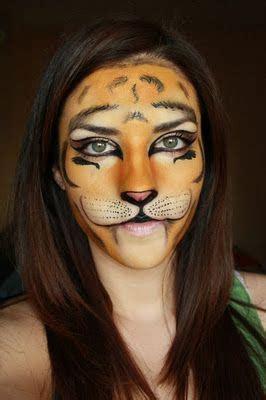 tutorial makeup halloween yang mudah contoh make up karakter aneka binatang gebeet com