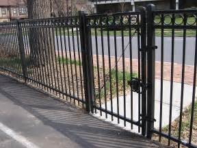 montage residential ornamental steel fence decorative