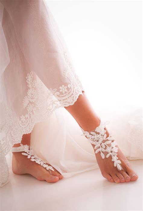 sandals for wedding ivory barefoot sandals bridal shoes wedding shoes bridal