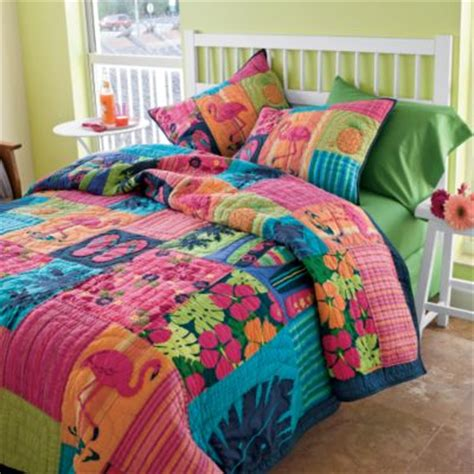 Tropical Quilts by The Hawaiian Home Tropical Quilts On Sale