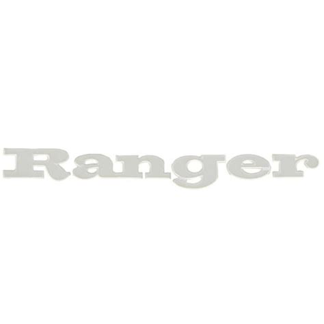 ranger boat raised decals ranger boat lettering decal 9891349 raised 24 7 8 x 3 1