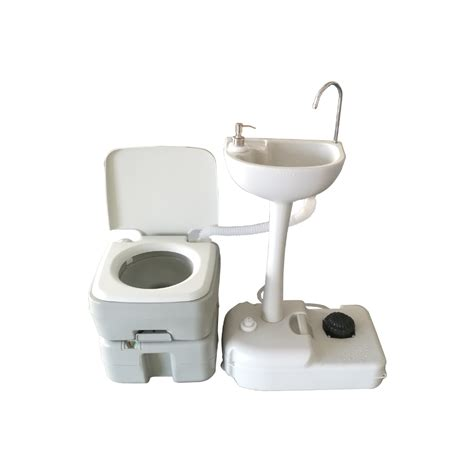 wash basin toilet 20l portable toilet flush cing hiking toilet potty and