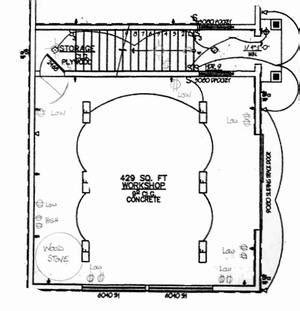 Blueprint House Plans by Workshop Electrical Wiring