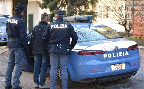 squadra volante polizia di stato prende a pugni i poliziotti molisano in manette l eco
