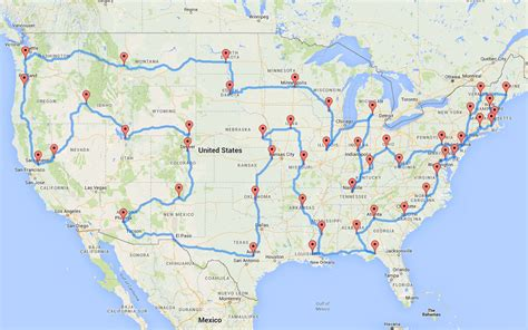 road map trip planner this planned the most epic and efficient road trip