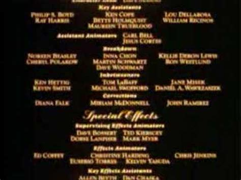 2001 ending song end credits and the beast