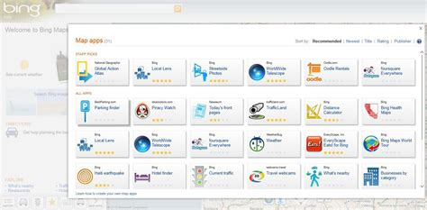 microsoft maps themes bing applications web bing maps s ouvre aux d 233 veloppeurs tiers