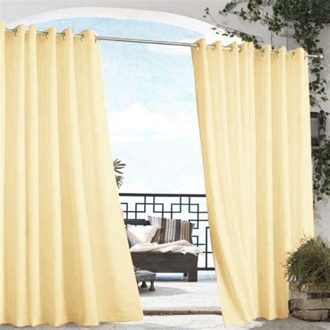 Heat Repellent Curtains Outdoor Curtains Curtain Panels And Indoor Outdoor On Pinterest