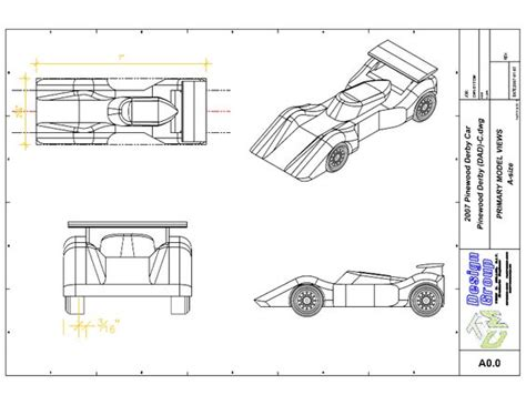free pinewood derby car templates to print primary