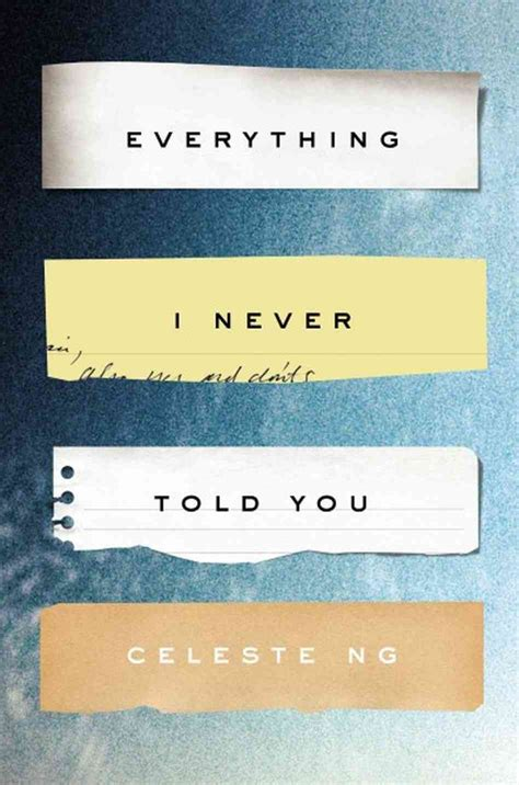 i told you books celeste ng author of everything i never told
