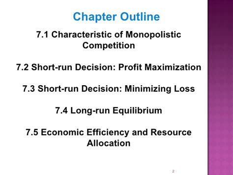 chapter 7 section 3 monopolistic competition and oligopoly chap7