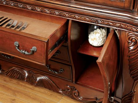 wyndmere royal presence cherry finish formal dining room wyndmere hutch buffet antique cherry