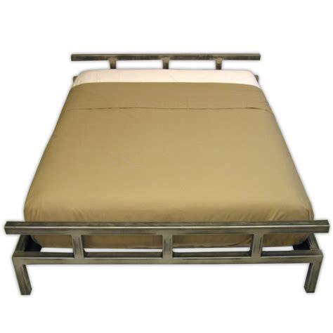 steel platform bed frame stainless steel platform bed boltz steel furniture