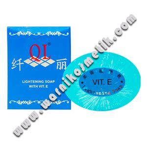 Wajah Ql produk kecantikan ql lightening soap