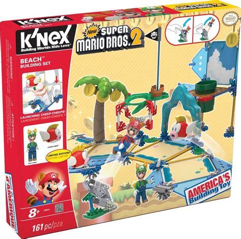 Bross Set by Knex Mario Bross Set 38624 Construccion En La Playa Juego