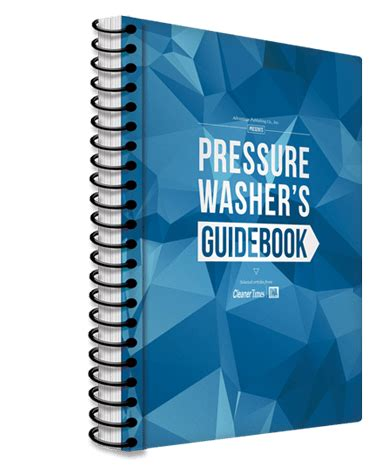 Pressure Washer Guide Book Power Washing