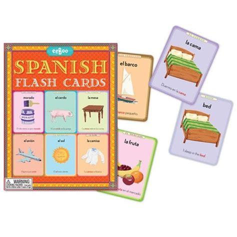 spanish flash kids flash spanish flash cards
