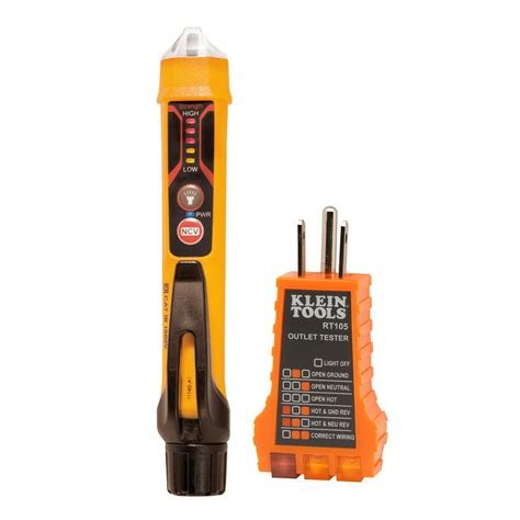 Home Depot Electrical Tester by Klein Tools Electrical Test Kit Ncvt3kit The Home Depot