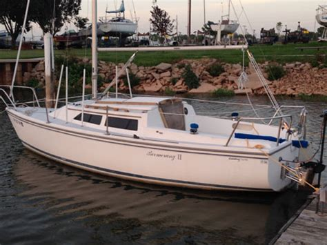 catalina  swing keel  oklahoma city  sailboat