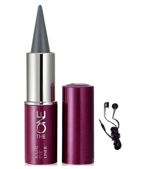 Eyeliner Kajal Oriflame oriflame the one kajal eye liner with maxell earbuds buy oriflame the one kajal eye liner with