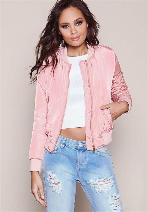 light pink bomber jacket pink bomber jacket fit jacket