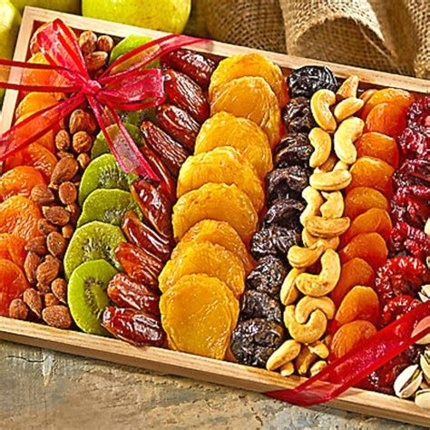 christmas holiday gourmet food baskets nuts gift basket mixed nuts 7 different nuts five star gift baskets gourmet dried fruit and nut gift tray