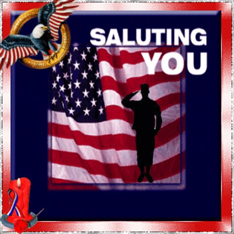 Happy Veterans Day To Army Soldier Free Greeting Card Template by Thank You Notes Gif Find On Giphy