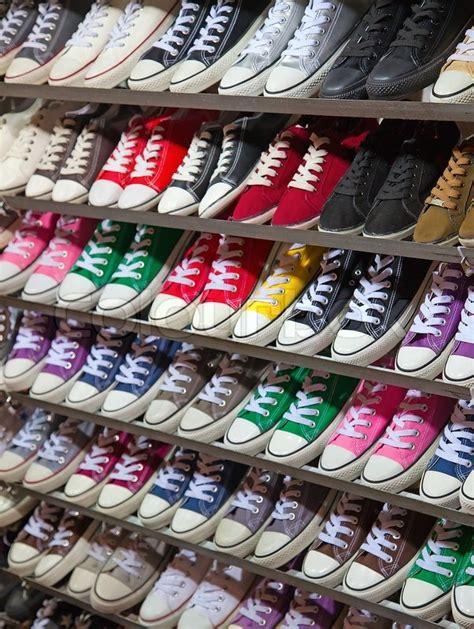 sneaker marketplace lots of sneaker shoes on sale on hong kong market