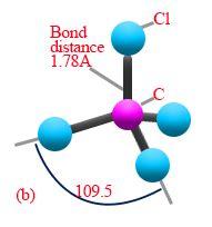 Molecular Geometry of CCl4 | Chemistry@TutorVista.com Carbon Tetrachloride Molecule
