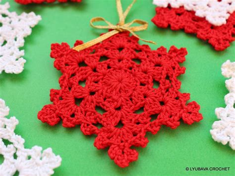 snowflake patterns crochet easy crochet pattern snowflake easy pattern christmas by