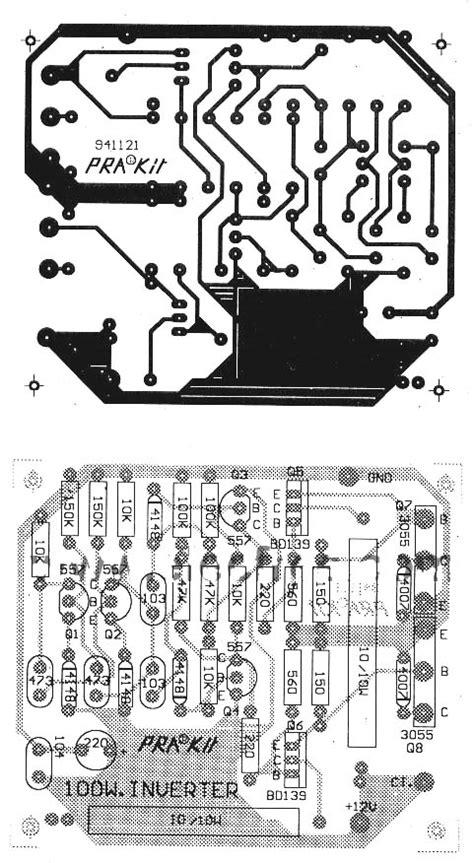 Lu Motor Led 35 Watt transist 246 rl 252 inverter devresi 100w 12v gt 220velektronik