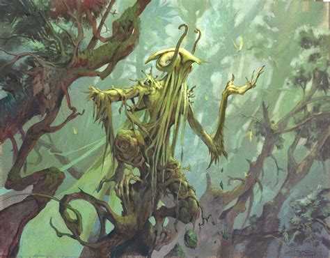 muddy colors glade watcher magic the gathering dragons of tarkir