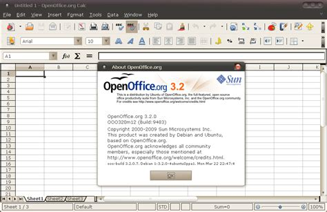 how to install openoffice on ubuntu install upgrade openoffice 3 2 from a ppa repository