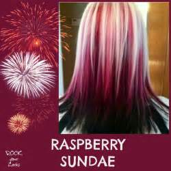 black hair to raspberry hair raspberry sundae hair colour inspiration rock your locks