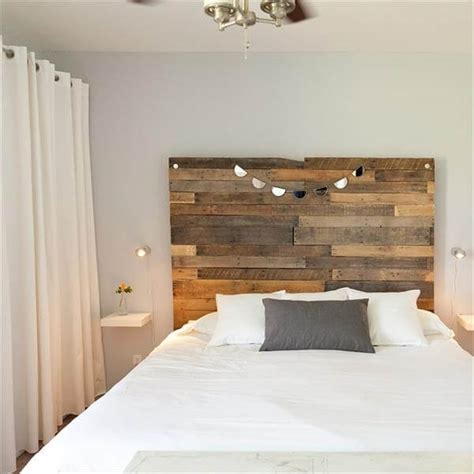 how to build a pallet headboard 40 recycled diy pallet headboard ideas 99 pallets