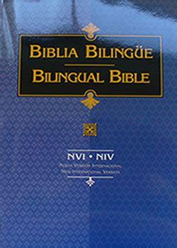 libro biblia bilingue pr nvi niv biblia nvi niv bilingue tapa rustica editorial vida