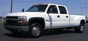 buy used 2001 chevy silverado 3500 lt dually 4x4 crew cab