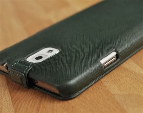 custom made to order genuine leather flip leather