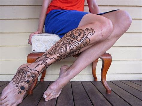 henna tattoo dauer ideas small foot henna mehndi design