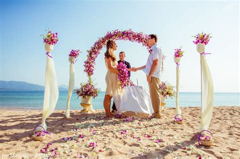 Small Budget Cheap Beach Wedding Ceremony Phuket