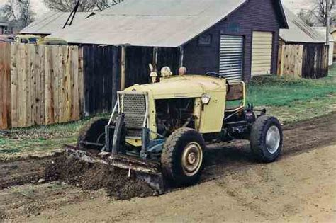 doodlebug tractor plans the doodlebug a tractor tractors farm collector