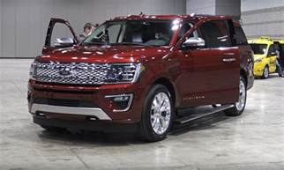 2018 ford expedition specs design and price tech
