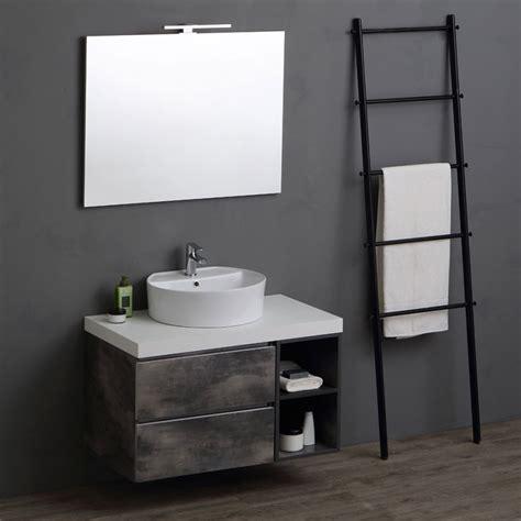 mobili bagno 90 cm composizione serie valentina industrial design base 90 cm