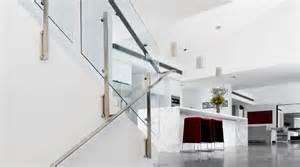 Flat Stair Handrail Fascia Fixed Stairs Flat Handrail Thump Architectural