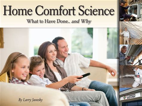 Home Comfort by Free Home Comfort Book With Each Home Energy Audit Book