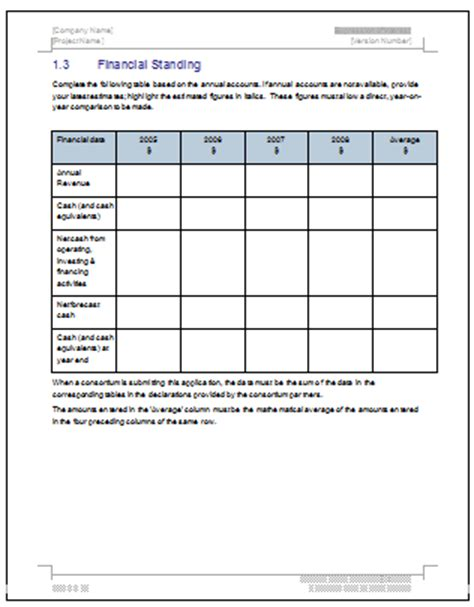 expression of interest form template expression of interest template ms word free excel