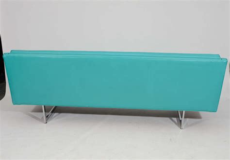 sleek tufted modern sofa at 1stdibs