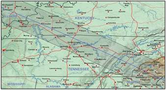 kentucky and tennessee eclipsophile