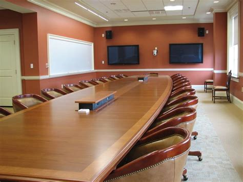 Boat Shaped Meeting Table Boat Shaped Conference Tables With Integrated Power And Data Tables Boats